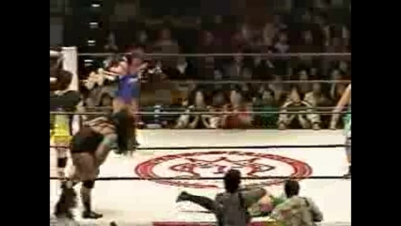 6. Nagayo, Bomber Hikari, Sonoko Kato vs. Eagle Sawai, Jenne Yukari. Michiko Nagashima (2.16.1996)
