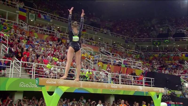 Sanne Wevers Gold Medal Balance Beam Rio