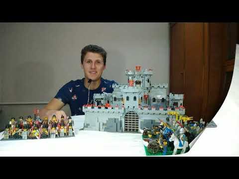 Моя самоделка Лего замок MOC Lego castle