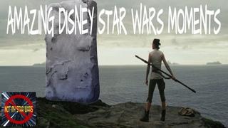 AMAZING Disney Star Wars Moments!