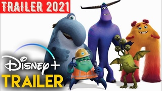 Monsters At Work  - 2021 -  Disney+ Serie Tráiler Oficial Español Latino