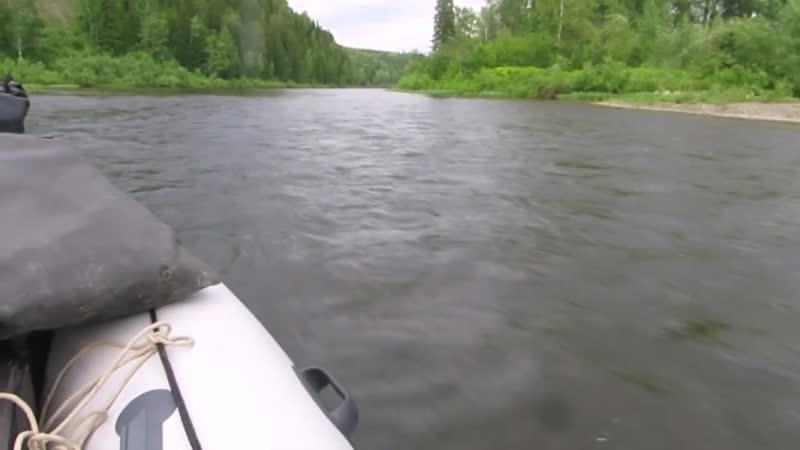 Добираемся до места рыбалки на Тайдоне