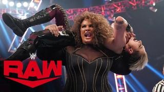 Rhea Ripley vs. Nia Jax: Raw, Aug. 2, 2021