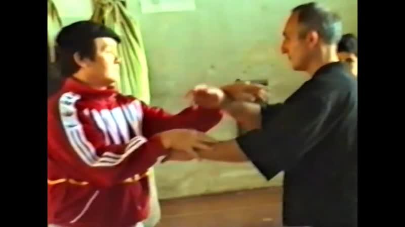 Мастер вьетнамского вин чун Хоан Вин Занг в гостях у AWTF (Армения). 2001г.