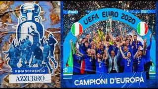 CAMPIONI D'EUROPA! ITALIA Euro 2020: Rinascimento Azzurro (il film dell'europeo)