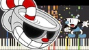 IMPOSSIBLE REMIX - Cuphead Song - Brothers In Arms - DA Games - Piano Cover