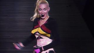Madonna /// Blond Ambition Tour /// 26 April 1990 /// Yokohama /// AI HD Interpretation upscaled