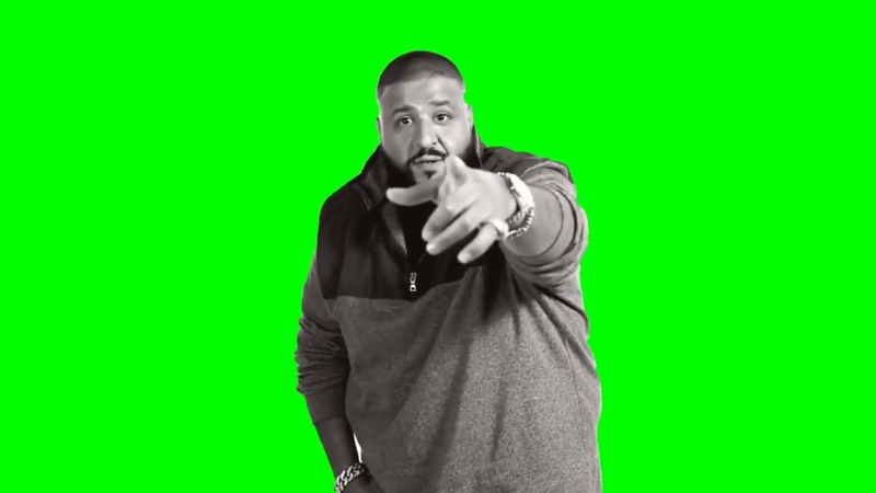 DJ Khaled Another One Green Screen Chromakey Mask Meme Source