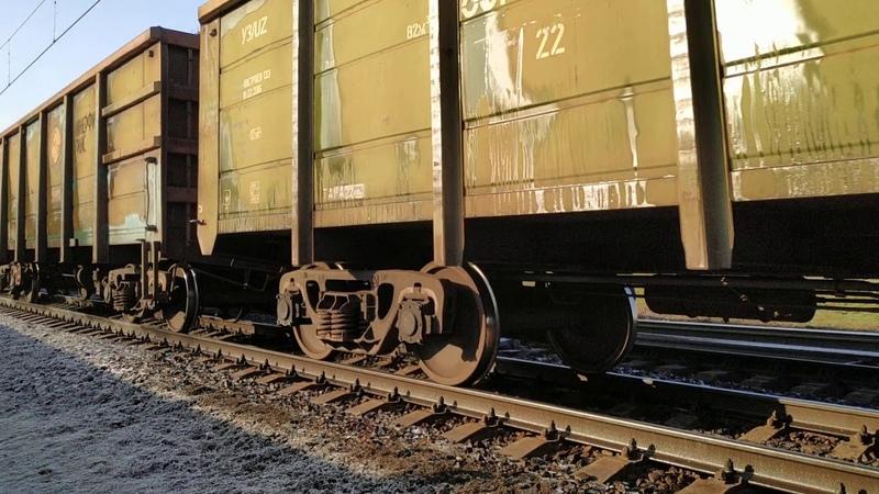 ВЛ11 091 ВЛ11 С грузовым составом приветливая бригада