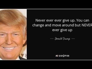 🇺🇸🦅🇺🇸 «Never Give Up»Donald. J. Trump 🇺🇸🦅🇺🇸