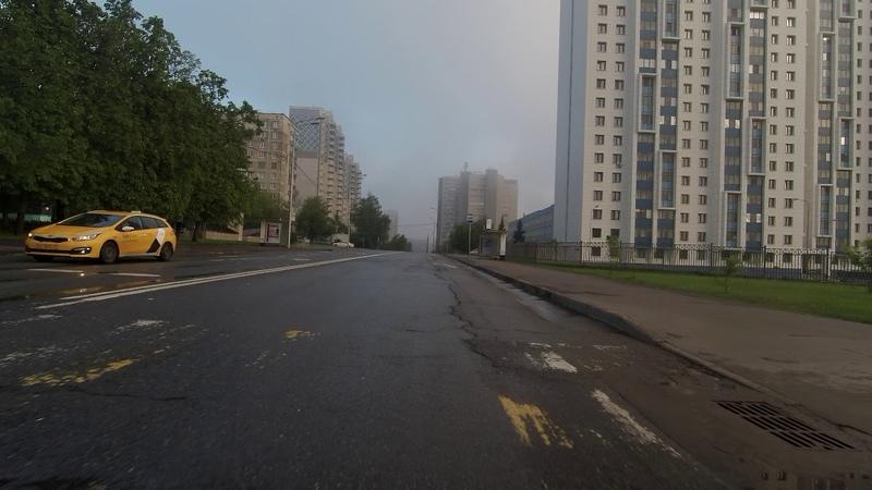 Перекрёсток Бутлерова и Профсоюзной 06.06.2020