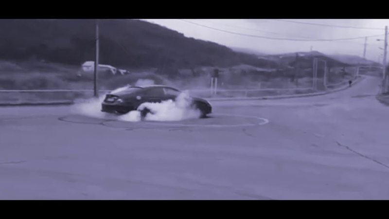 Drift on mercedes. video 1
