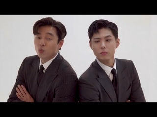 [ENG] Park Bo Gum, Gong Yoo PHOTOSHOOT BEHIND THE SCENES Cine21 Magazine Korea // invite to Seobok