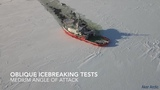 Oblique Icebreaker Baltika - Ice trials on 19 March - 10 April 2015 #coub, #коуб