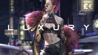 L U X U R Y   Cyberpunk Darksynth Synthwave Mix  