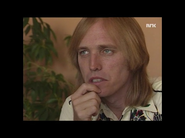 Tom Petty on working with Jeff Lynne Traveling Wilburys etc Norwegian TV 1989