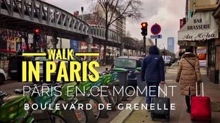 🇫🇷 WALK IN PARIS ( BOULEVARD DE GRENELLE ) 05/01/2021 PARIS 4K