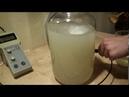 Получение Ормуса в домашних условиях из щёлока на золе и online замеры лабораторным pH метром