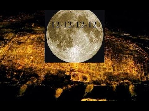 RARE Full Moon Born on 12 12 12 12 EXACTLY Possible Ancient Fortress found on Google Earth