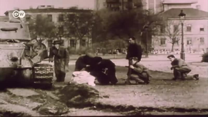 Венгрия 1956 подавление протестов в Будапеште