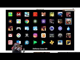 Defense Zone на android tv приставке Yundoo Y8. Часть 2