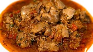 Нежнейшая куриная печень за 20 минут на сковороде. Как приготовить печень Куриная печень с подливкой