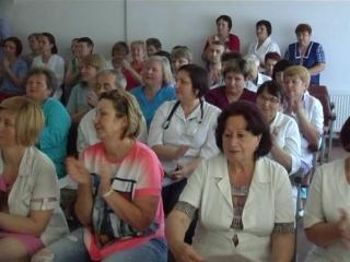 17 июня в  Старобешевской ЦРБ состоялось торжественное собрание, посвященное Дню медицинского работника