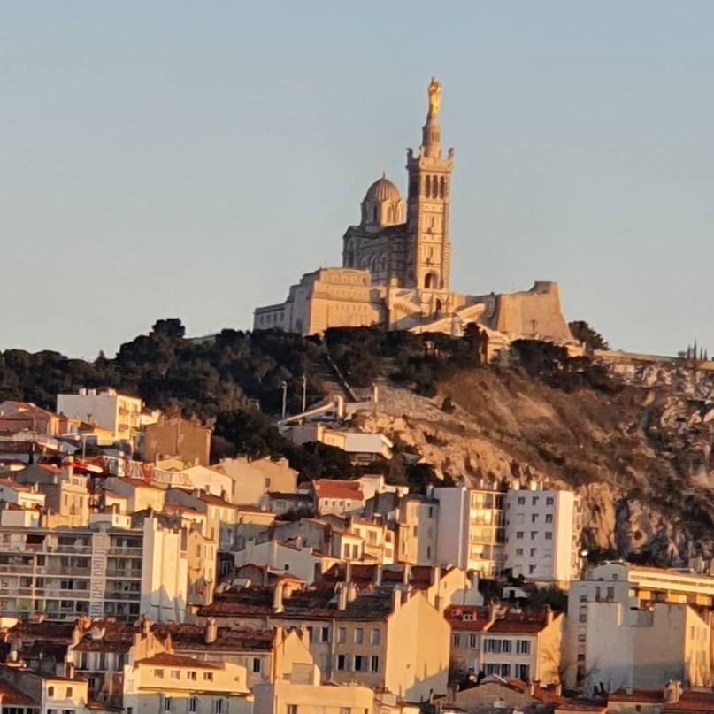 Рустам Минниханов: Нотр-Дам-де-ла-Гард, базилика в Марселе.