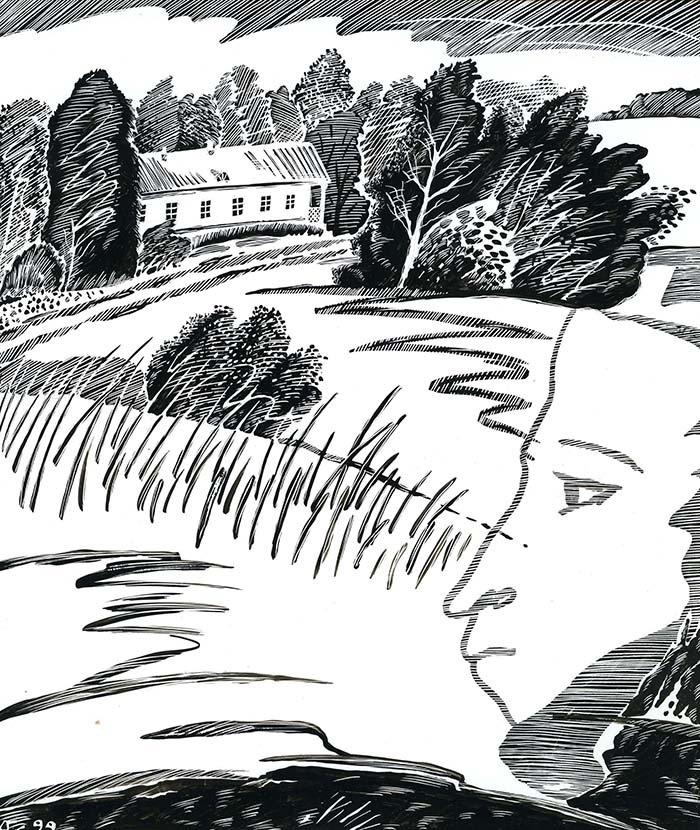 Пушкин в тригорском картинки