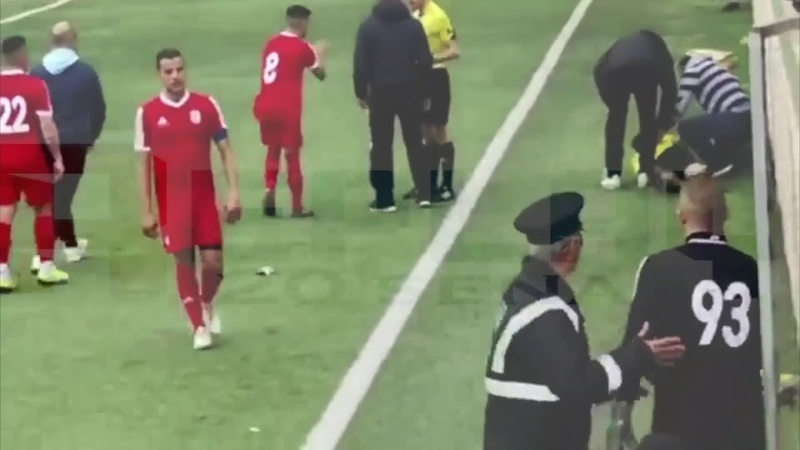 Maltese Football match abandoned after player assaults referee Oratory Youths FC v Sannat Lions FC