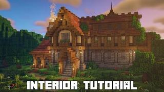 Minecraft Woodland Mansion Interior!