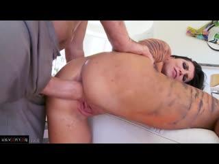 Romi rain & manuel ferrara [ brunettes &  premium / body piercing , ass , shaved , cosplay , cumshot in mouth , collar]