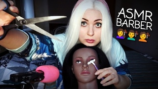 ASMR  ✂ SPA Barber ✂ Russian accent 🇷🇺 100% relax
