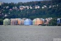 22 июля 2013 - Тольятти: Вид на Шлюзовой, Комсомольский район и Портпоселок с Волги