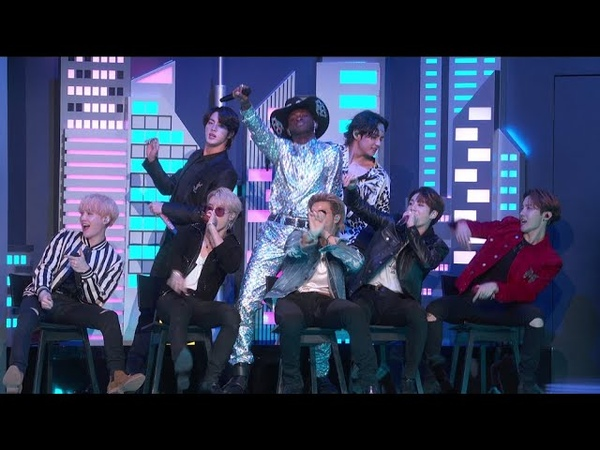 BTS 방탄소년단 'Old Town Road' Live Performance with Lil Nas X and more @ GRAMMYS 2020