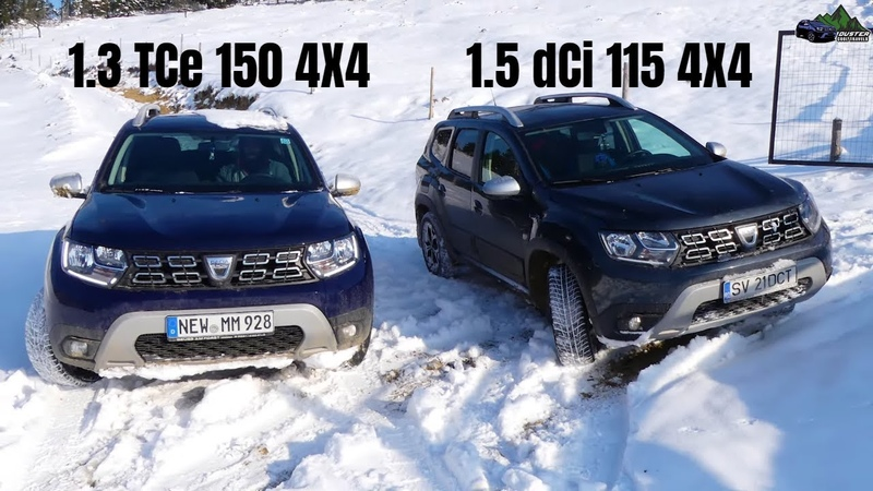 Duster 1.3 150 HP vs Duster 1.5 Snow Offroad