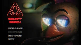 FIVE NIGHTS AT FREDDY'S Security Breach Menu FANMADE