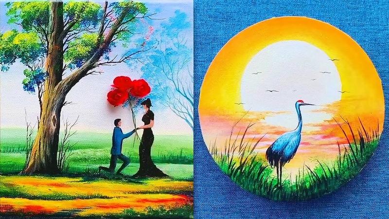 Nghệ thuật vẽ tranh đỉnh cao của họa sĩ Trung Quốc 18 Vẽ tranh galaxy tuyệt đẹp Creative Ideas