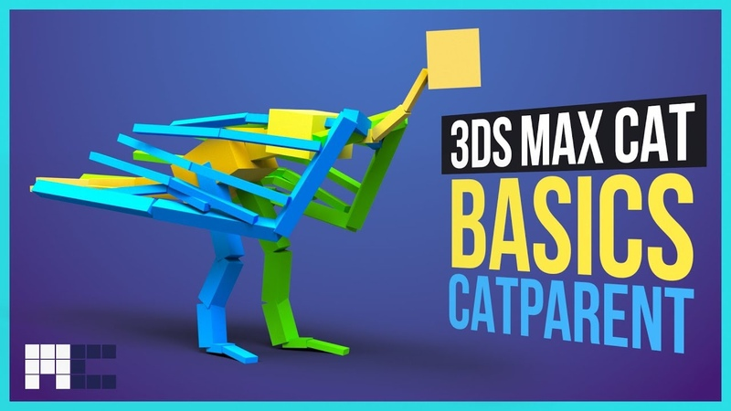 Getting Started with 3ds Max CAT CATParent or How To Start With CAT