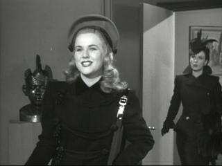 Леди в поезде. 1945. Фильм-нуар. США. Дина Дурбин.