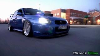 Slammed Subaru STI | TWreck Films sound blocked watch in vimeo
