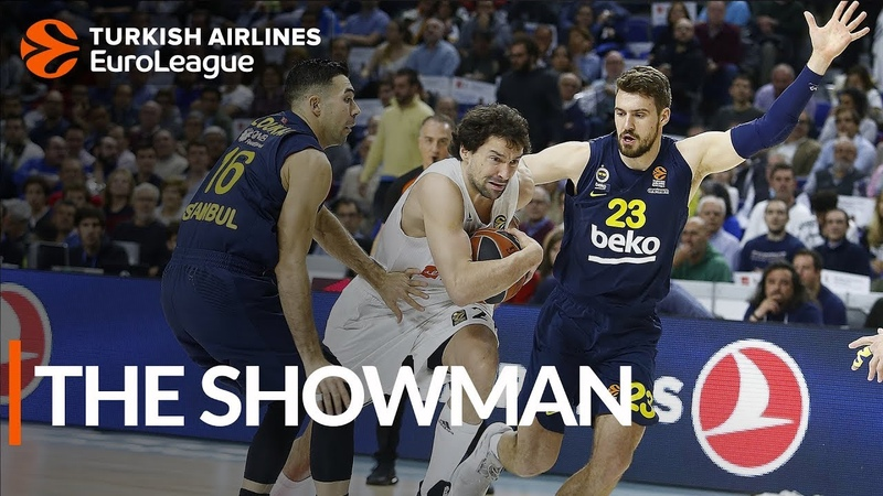 A brilliant night for Sergio Llull in a big win for Real Madrid
