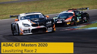 ADAC GT Masters | Lausitzring 2020 | Race 2 | English | Live