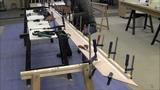 Bau eines Holzkajaks. Lektion 3 Balkweger anbringen