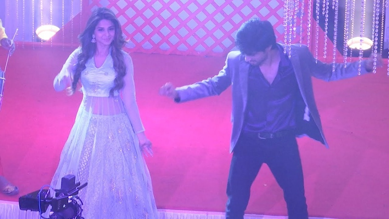 Bepannaah Jennifer Winget and Harshad Chopra dance their heart out