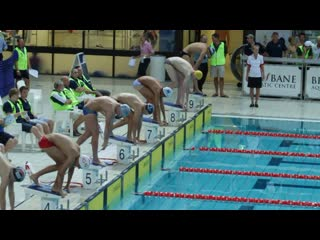 2012 gps swimming championships event 22a open 100m breaststroke false start