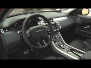 2016 Range Rover Evoque interior design