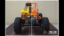 Metal cage for lexan body RC offroad