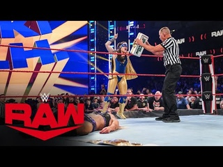 Nikki . becomes Raw Women's Champion after Charlotte Flair vs. Rhea Ripley: Raw, July 19, 2021
