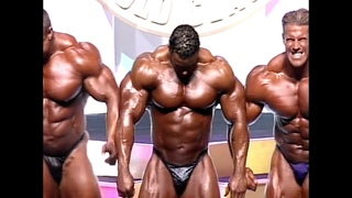 Final comparisons &posedown at 2003 Arnold Classic